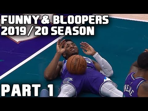NBA Funny Moments & Bloopers of 2019/20 Season - Part 1