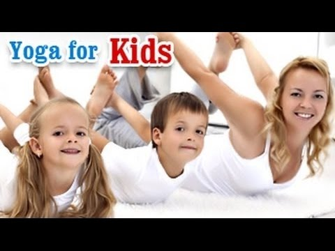 Yoga For Kids Complete Fitness - Yoga Poses, Fitness, Health, Growth Tips in English
