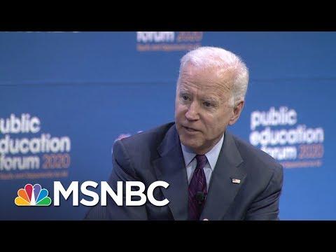 Joe Biden On How He'd Address Increasingly Segregated Schools | MSNBC