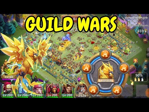 Guild Wars With 20 Breakthrough Lazulix L Castle Clash