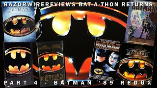 RazorwireReviews Bat-a-thon Returns Part 4 - Batman '89 Redux