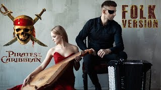 Pirates of The Caribbean Theme Soundtrack  B&B Project Ukrainian cover version Bandura and accordion