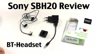 Sony SBH20 Review - Stereo Bluetooth Headset