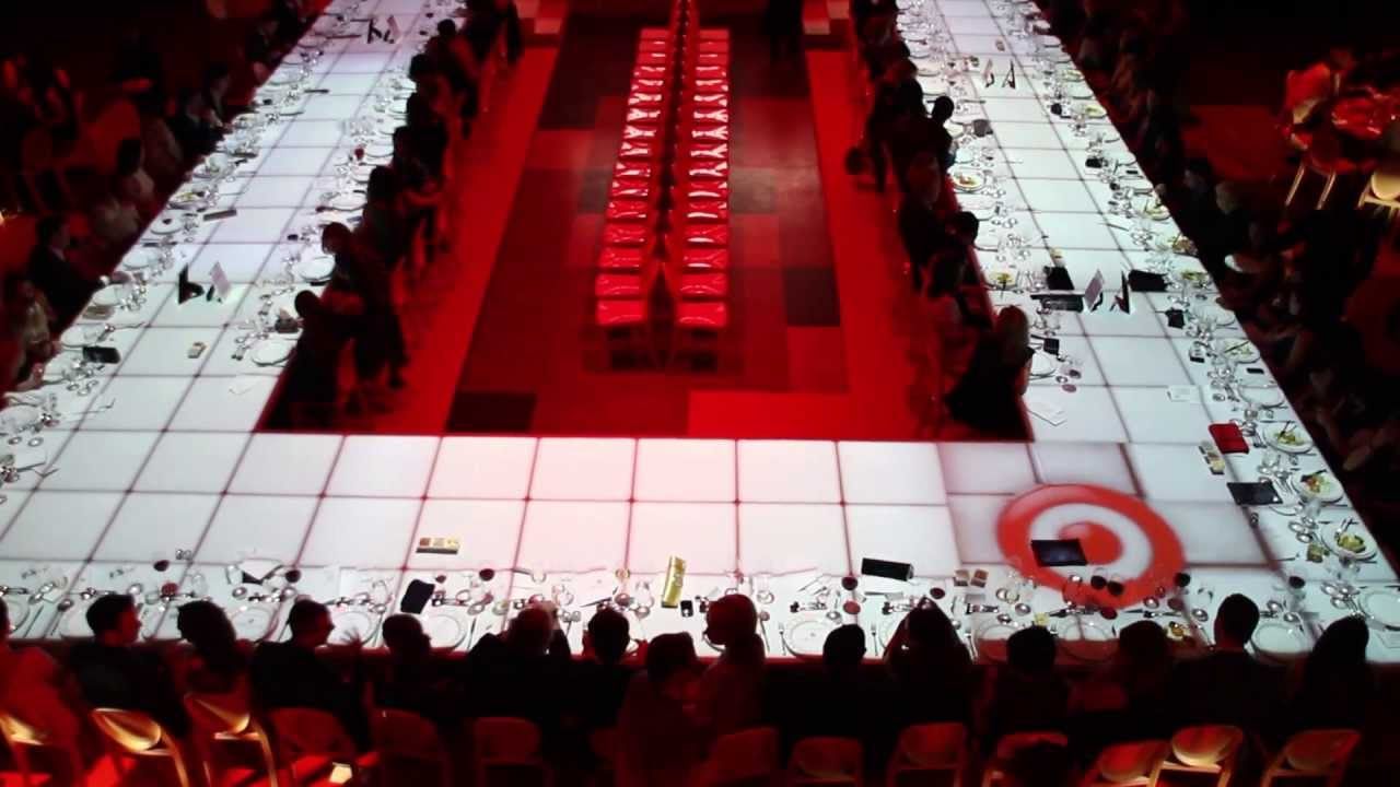 3d Projection Mapping On To Fashion Show Runway Dining