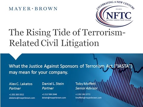 The Rising Tide of Civil Litigation Based on Alleged Support for Terrorism