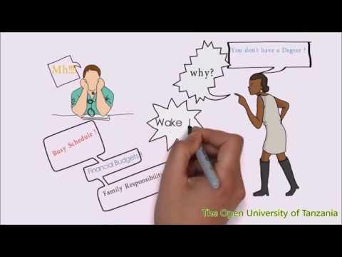 The Open University of Tanzania- motivation video