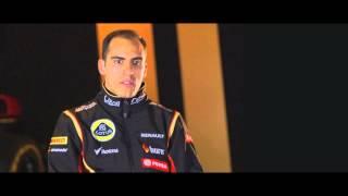 F1 2014 - Lotus E22 launch - Interview with Pastor Maldonado
