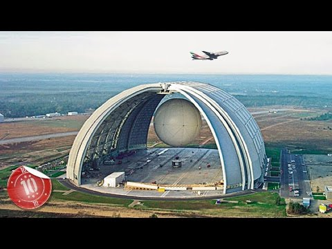 Top 10 Biggest Man-Made Structures