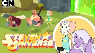 Steven Universe | Pearl and Amethyst Play Save The Light | Cartoon Network