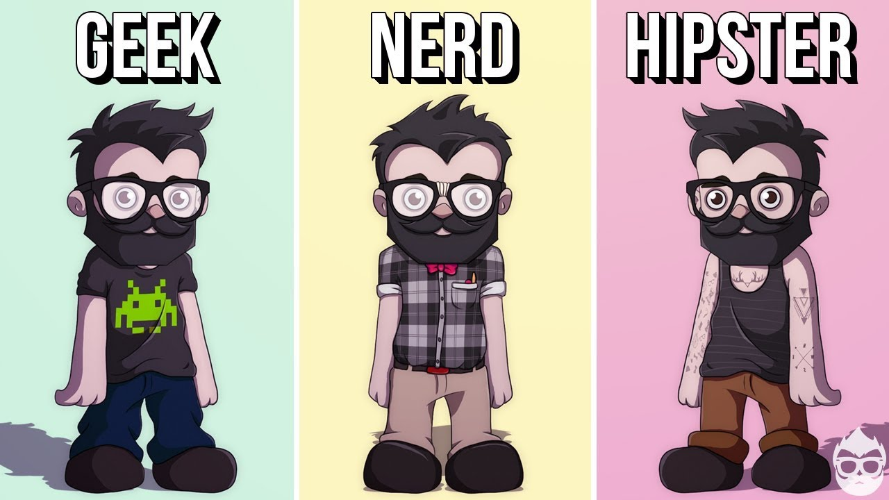 Geek vs nerd test