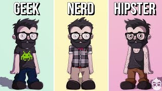 Geek, Nerd Or Just A Hipster?