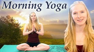Good Morning Yoga For Energy & Weight Loss – 20 Minute Class Beginners Yoga Workout