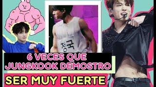 6 Veces que Jungkook Demostró Ser MUY FUERTE !! thumbnail