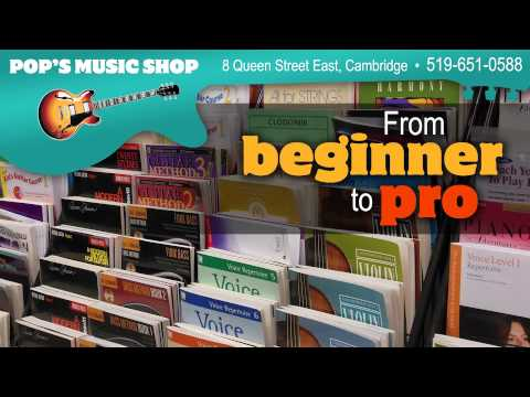 Pop's Music Shop - Cambridge - 1-1540
