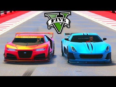 GTA V Online - CYCLONE VS NERO   TESTE DE VELOCIDADE !!!