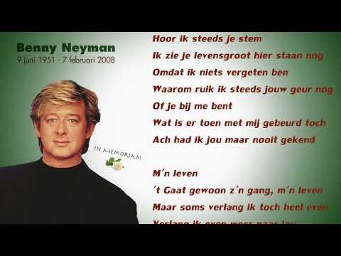 Benny Neyman - Waarom Fluister Ik Je Naam Nog (Lyrics Video)