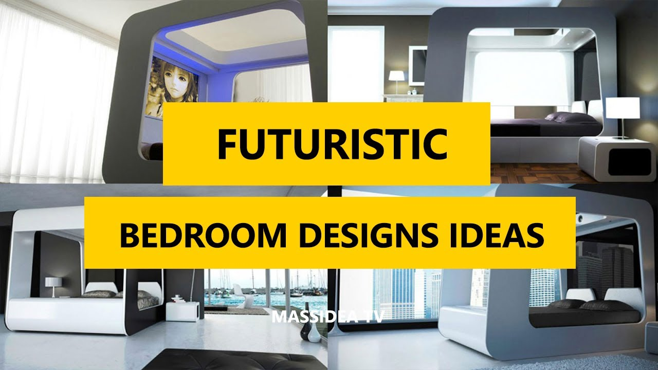 60+ Amazing Futuristic Bedroom Designs Ideas For House