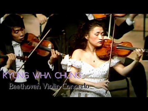 (ReUp) Kyung Wha Chung plays Beethoven violin concerto (1985)