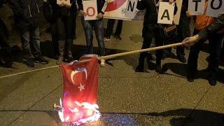 26 ноября в Афинах прошел митинг в знак протеста против политики Турции полная версия