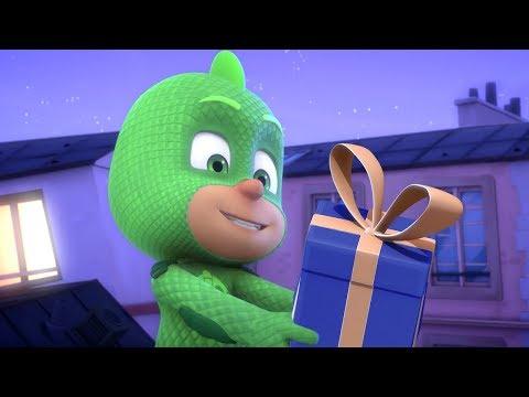 PJ Masks Super Pigiamini Geco salva il Natale  Nuovi Episodi | Cartoni Animati