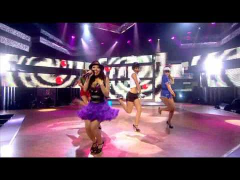 The Saturdays - Just Can't Get Enough (First Ever Performance on Let's Dance for Comic Relief)