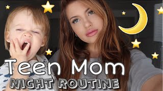 SINGLE TEEN MOM NIGHT ROUTINE *REALISTIC* Video