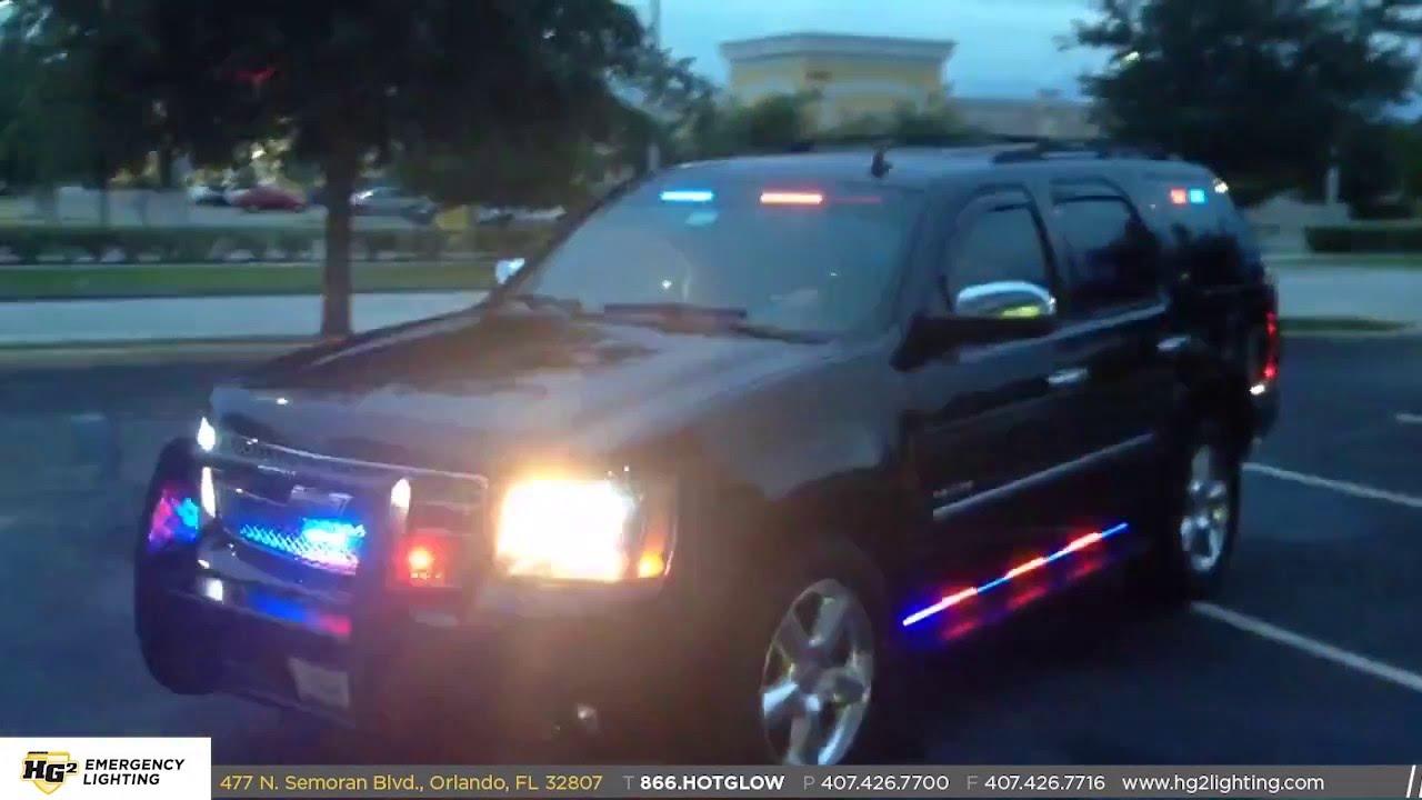 Hg2 Emergency Lighting Chevy Tahoe Undercover Slicktop