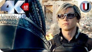 Quicksilver vs Apocalypse - X-Men Apocalypse - MOVIE CLIP (4K HD)