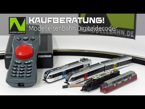 Kaufberatung Modelleisenbahn Digitaldecoder | Purchase advice Loco decoder