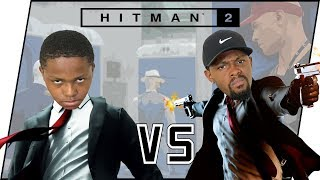 Hitman Multiplayer! Racing My Annoying LIttle Brother For Kills! (Hitman 2 Ghost Gameplay)