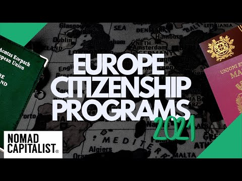 Fastest European Second Citizenships for 2021