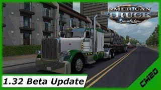 American Truck Simulator / Update - 1.32 Beta