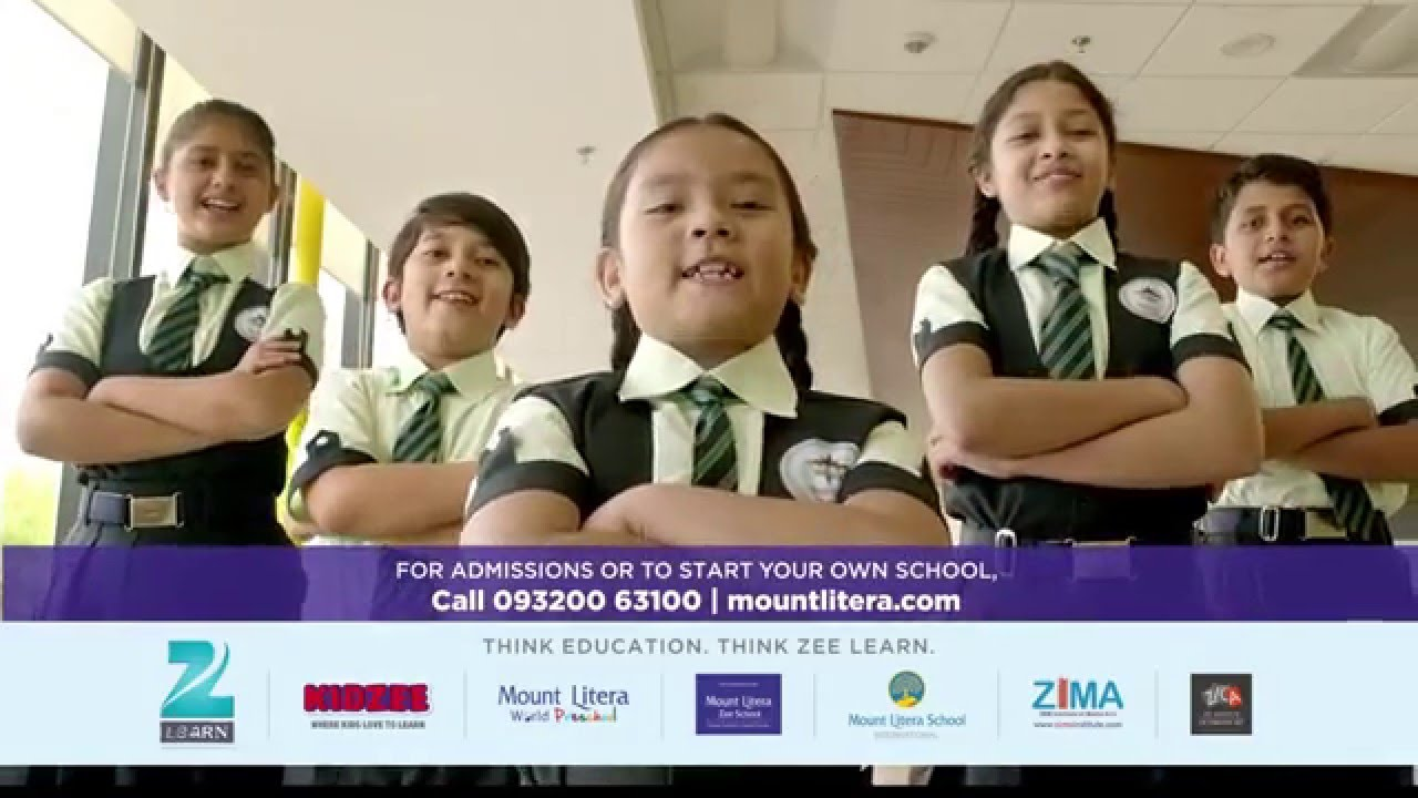 Mount Litera Zee School Inspiring Children To Be What They Want To