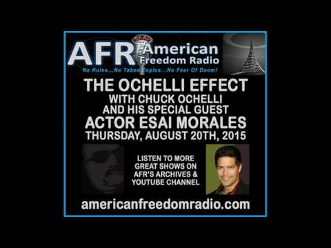 Esai Morales, Actor/Director/Artist Speaks The Truth On The Ochelli Effect