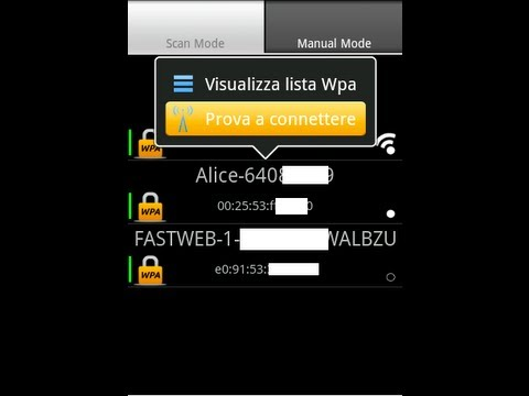 programma per rubare password wifi per android