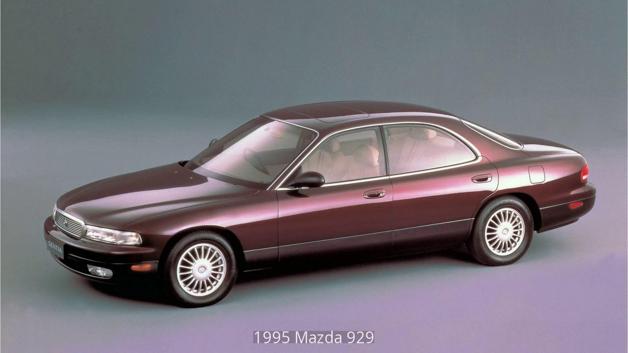 1995 Mazda 929 - YouTube