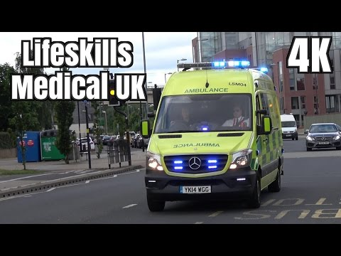 Ambulance siren - Emergency Medical Services Authority | 4K