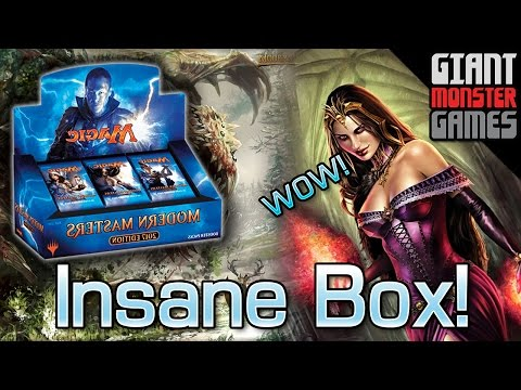 Modern Masters 2017 Box Opening - The MOST INSANE BOX EVER!