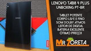 Lenovo Tab4 8 Plus - O melhor Tablet relação qualidade-custo-benefício para importar! - Unboxing