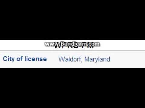 WPRS-FM Praise 104.1 Waldorf, MD TOTH ID at 9:00 p.m. 7/16/2014