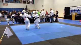 Arwen's 1st Kumite (AAU West Palm Beach 4/11/15)