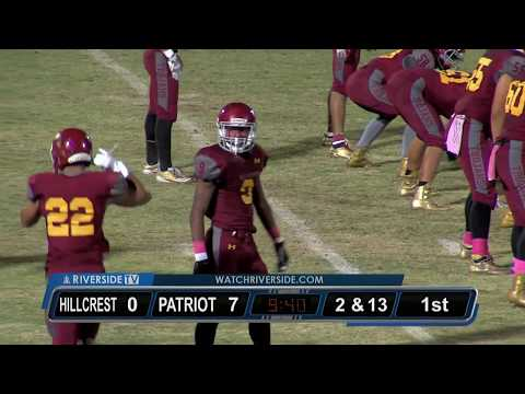 High School Football - Hillcrest vs Patriot