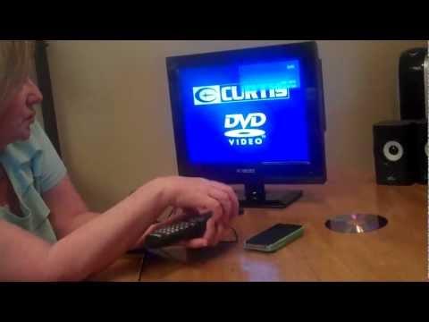 Instructions On TV ~ DVD Setup