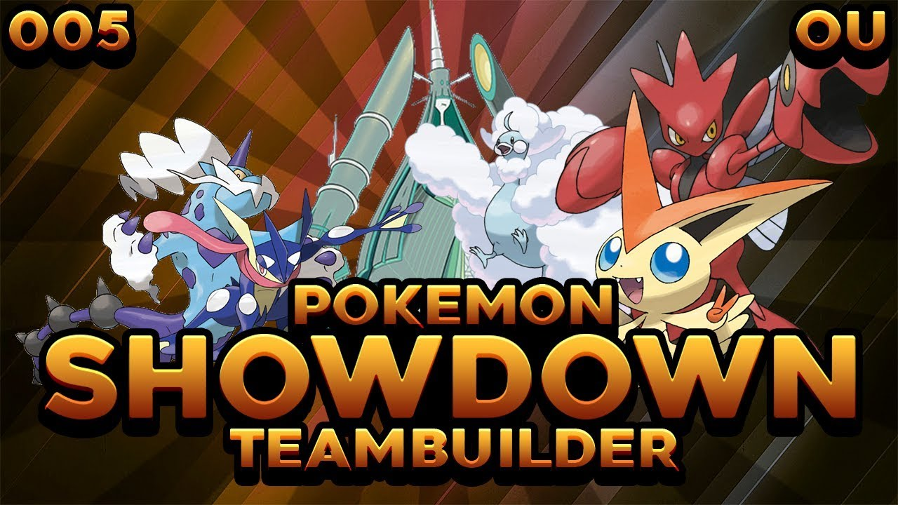 Bulky Volt Turn Team | Pokemon Ultra Sun and Moon Competitive OU  Teambuilder #005 | @trxo_