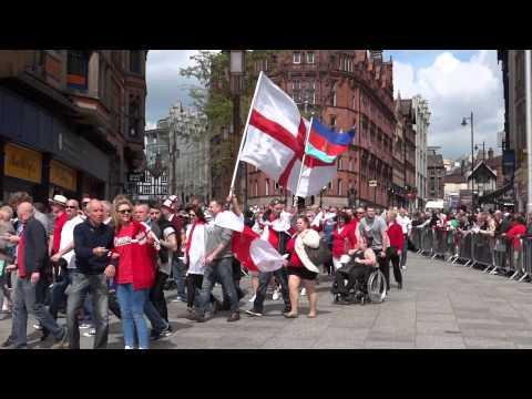 St Georges Day. Nottingham. 23 April 2014