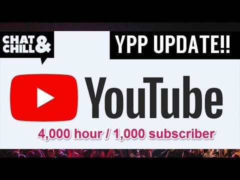 YOUTUBE PARTNER PROGRAMME TO EFFECT ALL SMALL YOUTUBERS | Chat & Chill NEWS