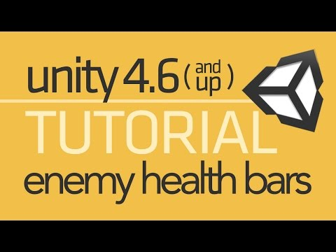 Unity 4.6 UI Tutorial - World Space Health Bars (+Projectiles)