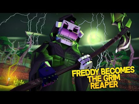 Minecraft Fnaf:  Sister Location - Funtime Freddy Becomes The Grim Reaper (Minecraft Roleplay)