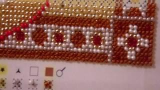 №7. Как начинать вышивать иконы бисером. Уроки вышивания