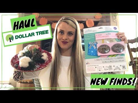 Huge Dollar Tree Haul   Must See New Items!   November 2019
